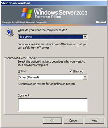 Shut Down Windows