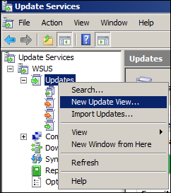 New Update View