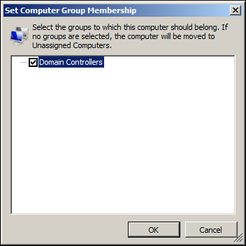 Set Computer Group membership