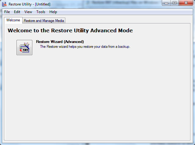 how to delete backup restore fiels on win 10